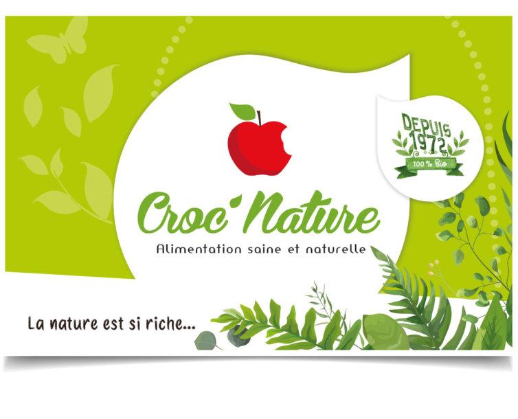 Façade Croc'Nature